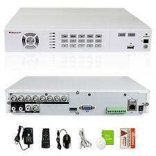 iSmart 8CH Full 960H DVR with CCTV Surveillance Security Camera System D5608WH