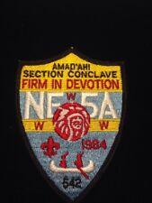 Boy Scout OA Section NE-5A 1984 Conclave WWW Patch NOS
