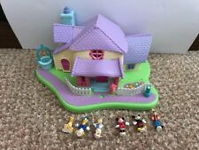 Disney Polly Pocket Minnie' Surprise Party Complete With 6 Figures
