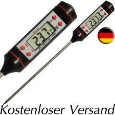 Kern Temperaturmessgerät Digital bis +300°C inkl. Batterien Grillthermometer NEU