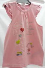 Orchestra tee-shirt manche volant rose motif marelle pailletté bébé 18 mois