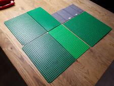 7 Lego Strassenplatten Grundplatte Bauplatte City Town Street