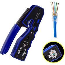 More details for rj45 ez pass through pro hd crimping tool crimper cat 5 5e 6 7 connector lan