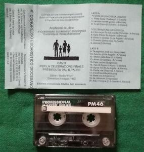 MC Musicassetta 4° CONGRESSO EUCARISTICO DIOCESANO Arcidiocesi Di Udine no lp cd