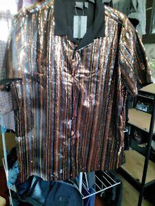 Mens Asos Xxxl Sequin Shirt