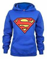 Superman Shield Logo Women's Hoodie