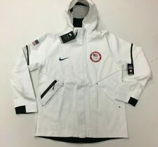 Nike Team USA Olympic Tech Fleece Hoodie Jacket 909530-100 Mens Large