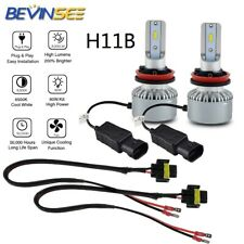 H11B For Hyundai Santa Fe 2009-2012 LED Headlight Low Beam Bulbs Extension Cable