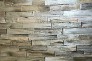 Spaltholz Holzverblender  3D Wandverkleidung Riemchen Wandgestaltung Holzfliese