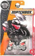 MATCHBOX METAL BMW R1200 RTV POLICE BIKE 1:64 SCALE