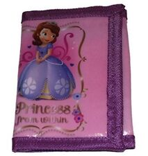 Girls Disney Sofia The First Purse Money Wallet