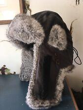 Stetson Wax Fur Trapper Hat Medium