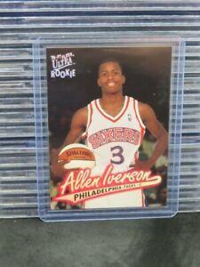 1996-1997 Ultra Allen Iverson RC Base Rookie Card #82 76ers Z81