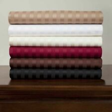 1000 TC Ultra Soft 100% Cotton Queen Size Sheet Set All Striped Colors