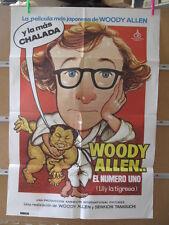 1958    WOODY ALLEN EL NUMERO UNO LILY LA TIGRESA