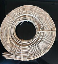 """Flat Oval 1/2"""" Basket Reed Coil Weaving Wicker Rattan"""