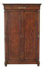 48006Ec: Giemme Francesco Molon Italian Walnut Large Bedroom Armoire