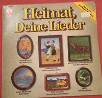 Heimat deine Lieder LP Vinyl Heino / Hellberg Duo / Maria Hellwig / Ronny uvm