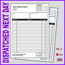 PERSONALISED INVOICE BOOK WITH YOUR COMPANY DETAILS