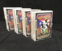 (4) ROBERTO CLEMENTE 1987 Donruss Diamond King Baseball Puzzles & #612 CARDs