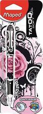 """Maped 220025 """"Tatoo Rose Teen Rock Tattoo"""" Fountain Pen - Medium Nib"""