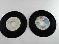 """Elton John 45 rpm record Who Wears These Shoes Healing Hands 7"""" Lot"""
