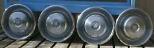 """1960s CADILLAC DEVILLE SERIES 62 FLEETWOOD 15"""" WHEEL COVERS HUBCAPS SET OF 4 jt"""