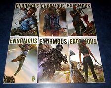 ENORMOUS V2 #1 2 3 4 5 6 1st printing A set 215 INK 2015 2106 Tim Daniel NM TV