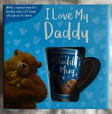 I Love My Daddy Mug And Book Gift Set Fathers Day