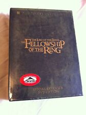 Lord Of The Rings:Fellowship Of The Ring (New/sealed region1 Canadian 4-DVD set)