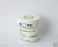 250K 0.55 Solder 0.55 mm 0.55mm BGA Solder Balls PB Leaded PMTC Made in Taiwan