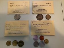 Lots World coins assorted Bought Over 30 Years Ago From Littleton Coin Co Bonus