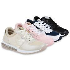 Damen Sportschuhe Metallic Laufschuhe Fitness Sneaker Schnürer 833554 Schuhe