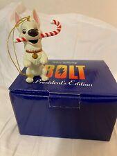 BOLT the DOG Disney Grolier Presidents Edition Christmas Ornament