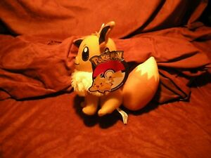 "Toy Factory 6"" Eevee Plush Pokemon - New with Official Tags"