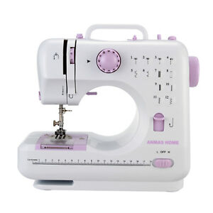 12 Stitches Household Sewing Machine Electric Handheld Sewing Tool ~AU