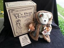 BOYDS Collection TJ's Best Dressed FERN WOODSBEARY bear - Exclusive LTD Edition!