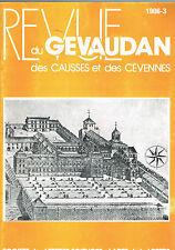 REVUE du GÉVAUDAN Causses Cévennes Lozère - Banassac - Les Vans et Pierre Lafue