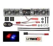 MyTrick RC MYKFB1 Police Interceptor Flasher Red/Blue Led Light Bar