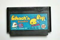 Famicom Chack n Pop Japan FC game US Seller