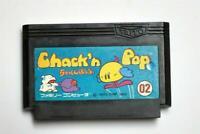 Famicom Chack n Pop Japan FC game US Seller