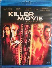 Killer Movie - Fear Reality (Blu-ray Disc, 2010) NEW/ SEALED