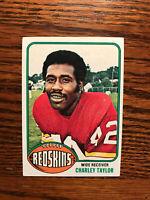 1976 Topps #450 Charley Taylor Football Card Washington Redskins NFL Raw