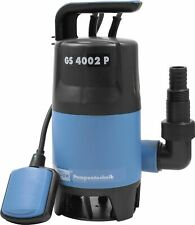Güde 94630 Schmutzwasser Tauchpumpe GS4002P mit  Schwimmerschalter Pumpe