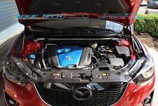 13-16 Mazda CX5 CX-5 Black Strut Gas Lift Bonnet Stainless Hood Damper Set