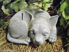 "Latex chihuahua mold with plastic backup concrete plaster mould  5.5""L x 4""W"