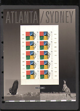 Australia 1996 EAGLE/KANGAROO/Giochi Olimpici/Sport 10 V Sht PRES Pack (n15463)