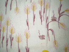 Sweet MOUSE Flannel Fabric Remnant (50cm x 50cm)