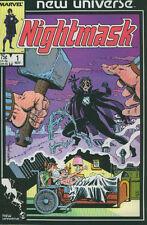 Us cómic Pack Marvel new universe 10 números, entre otros, nightmask kickers inc 1986 SPX