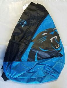 Carolina Panthers BackPack / Back Pack Book Bag NEW - TEAM COLORS - SLING